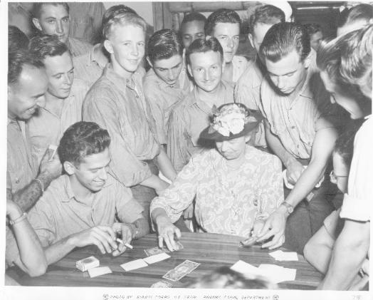 Eleanor Roosevelt Signing Short Snorter in 1944
